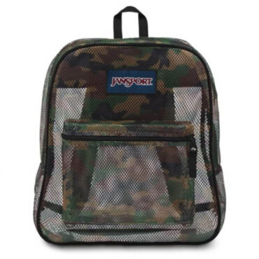 JanSport Mesh Pack Back Pack Surplus Camo