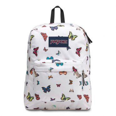 JanSport Superbreak Back Pack Butterflies