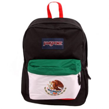 JanSport Superbreak Back Pack Mexican Flag