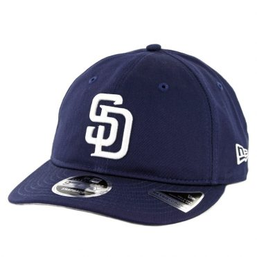 New Era 9Fifty San Diego Padres Team Choice Retro Snapback Hat Light Navy