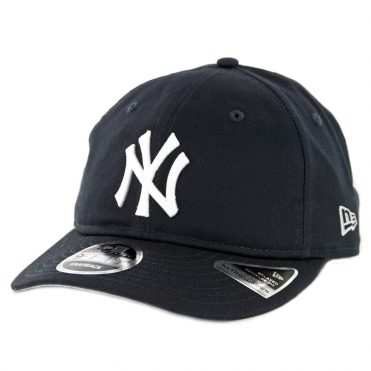 New Era 9Fifty New York Yankees Team Choice Retro Snapback Hat Dark Navy