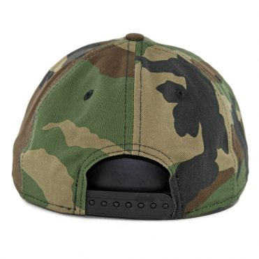 New Era 9Fifty Chicago Bulls Hidden Team Retro Snapback Hat Woodland Camo