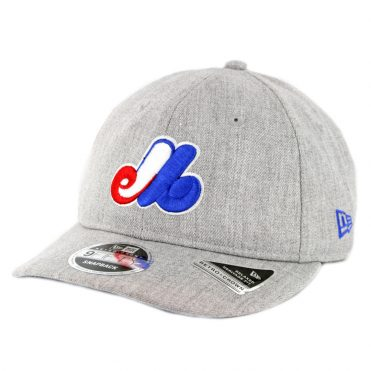 New Era 9Fifty Montreal Expos Heathered Team 1969 Snapback Hat Heather Grey