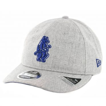 New Era 9Fifty Chicago Cubs Heathered Team 1914 Snapback Hat Heather Grey