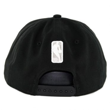 New Era 9Fifty San Antonio Spurs Badged Fan Retro Snapback Hat Black
