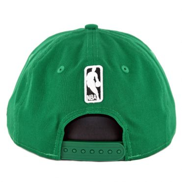 New Era 9Fifty Boston Celtics Badged Fan Retro Snapback Hat Kelly Green