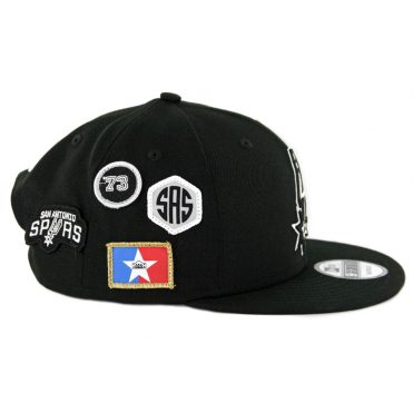 New Era 9Fifty San Antonio Spurs NBA 2018 Draft Snapback Hat Black