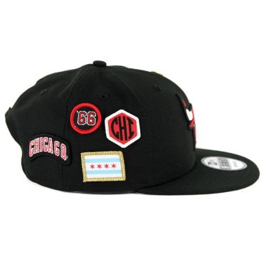 New Era 9Fifty Chicago Bulls NBA 2018 Draft Snapback Hat Black