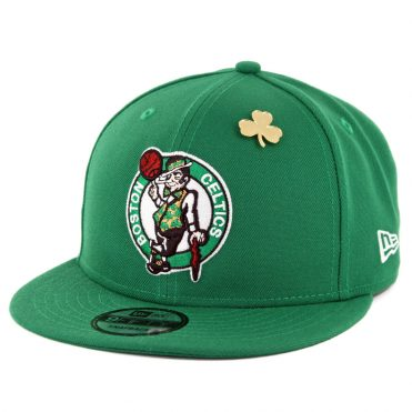 New Era 9Fifty Boston Celtics NBA 2018 Draft Snapback Hat Kelly Green