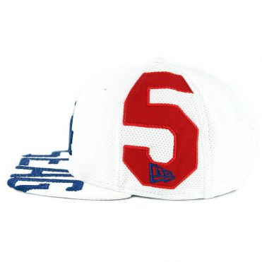 New Era 9Fifty Los Angeles Dodgers Player Pick Seager V1 Snapback Hat White