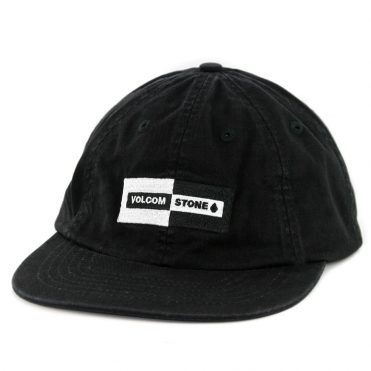 Volcom Same Difference Strapback Hat Black