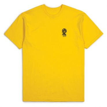 Brixton Sancha Short Sleeve T-Shirt Yellow