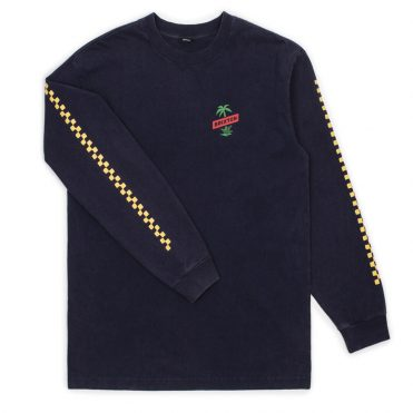 Brixton Tosh Long Sleeve T-Shirt Navy