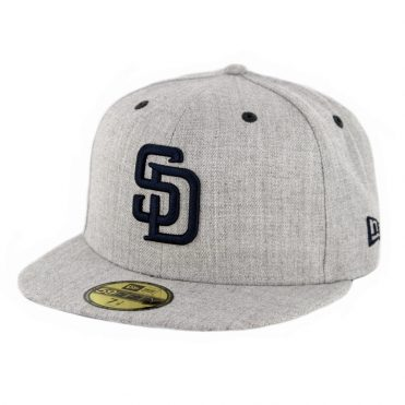 new product 31041 a215f ... new era 59fifty cto san diego padres fitted hat heather grey