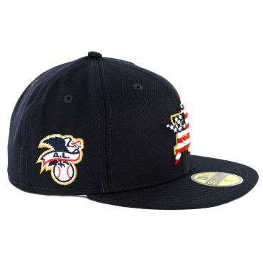 New Era 59Fifty Houston Astros July 4th 2018 Fitted Hat Dark Navy