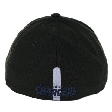 New Era 39Thirty Los Angeles Chargers Training Onfield Sideline 2018 Stretch Fit Hat Black