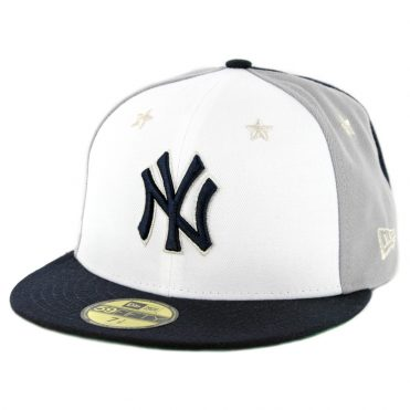 New Era 59Fifty New York Yankees 2018 All Star Game Fitted Hat Dark Navy Grey White