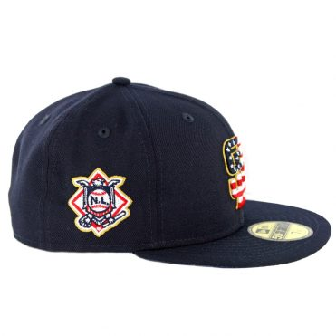 New Era 59Fifty San Diego Padres July 4th 2018 Fitted Hat Dark Navy