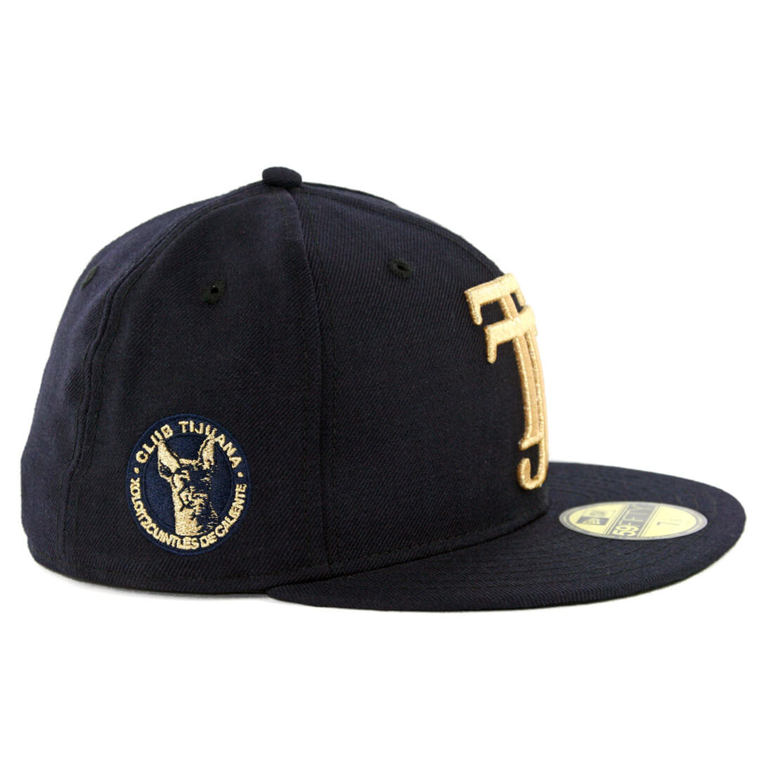 New Era 59Fifty Tijuana Xolos TJ Fitted Hat Dark Navy - Billion ... e82293bace5