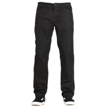 Volcom Solver Denim Pants Black Rinser