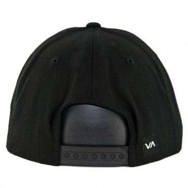 RVCA Commonwealth Deluxe Snapback Hat Black