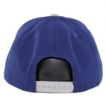 New Era 9Fifty Los Angeles Dodgers Pinned Snapback Hat Dark Royal