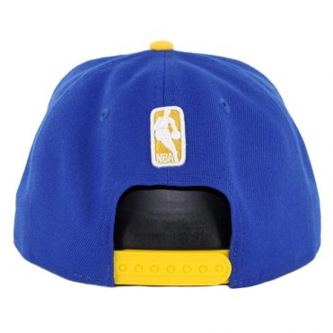 New Era 9Fifty Golden State Warriors Pinned Snapback Hat Royal Blue