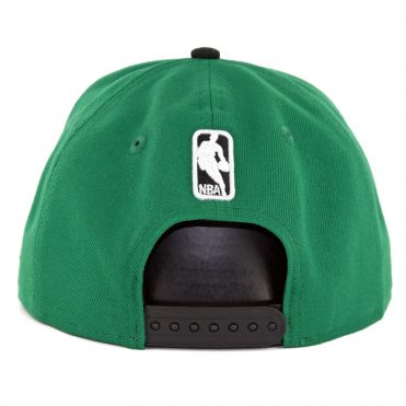 New Era 9Fifty Boston Celtics Pinned Snapback Hat Kelly Green