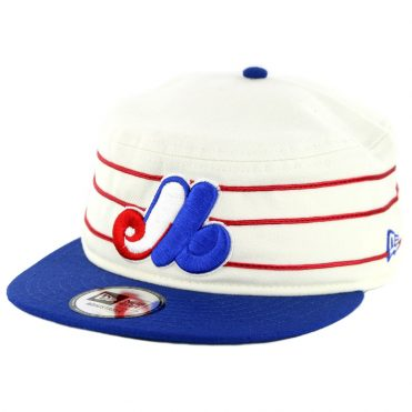 New Era 9Fifty Montreal Expos Cooperstown All Star Game 2018 Pillbox Snapback Hat Off White Royal Blue