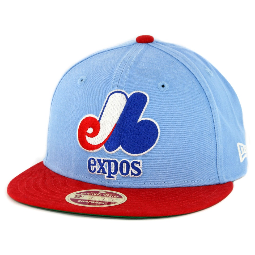 15b27425b3b New Era 9Fifty Montreal Expos Cooperstown All Star Game 2018 Snapback Hat  Powder Blue Red - Billion Creation Streetwear