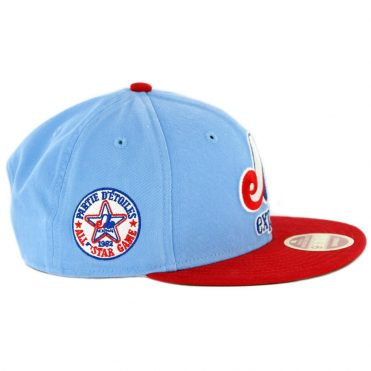 New Era 9Fifty Montreal Expos Cooperstown All Star Game 2018 Snapback Hat Powder Blue Red