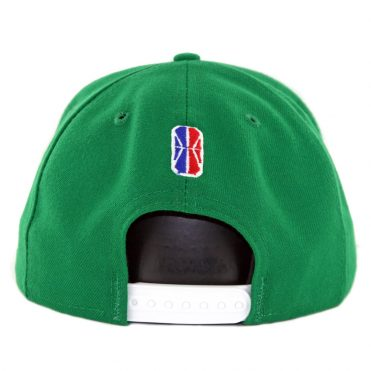 New Era 9Fifty Boston Celtics Crossover Gaming Snapback Hat Kelly Green