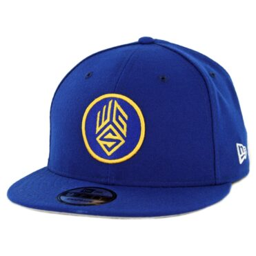 New Era 9Fifty Golden State Warriors Gaming Squad Snapback Hat Royal Blue