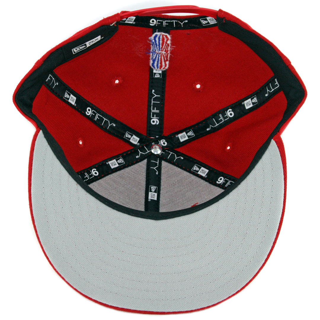 official photos bcc9c 1709a New Era 9Fifty Portland Trail Blazers Gaming Snapback Hat Scarlet. 🔍.   30.00