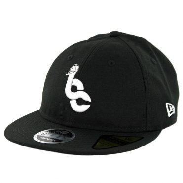 New Era 9Fifty Retro Crown Billion Creation Snapback Hat Black