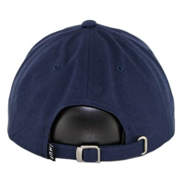 HUF Disaster CV 6 Panel Strapback Hat Mood Indigo