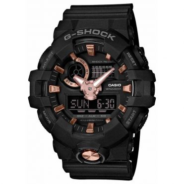 G-Shock GA710B-1A4 Black Rose Gold