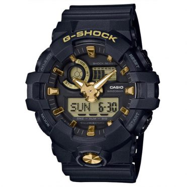 G-Shock GA710B-1A9 Watch Black Gold
