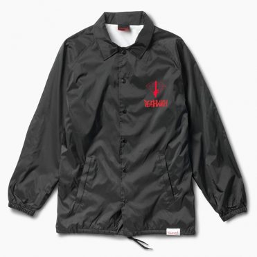 Diamond Supply Co x Deathwish Coaches Jacket Black
