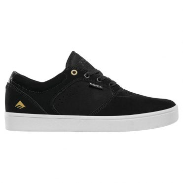 Emerica Figgy Dose Shoe Black White Gold