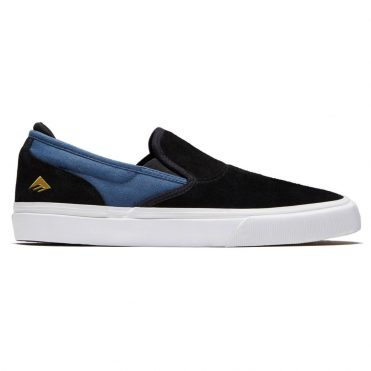 Emerica Wino G6 Slip-On Shoe Black Blue