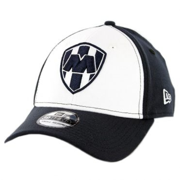 New Era 39Thirty Monterrey Rayados Stretch Fit Hat Dark Navy White Dark Navy
