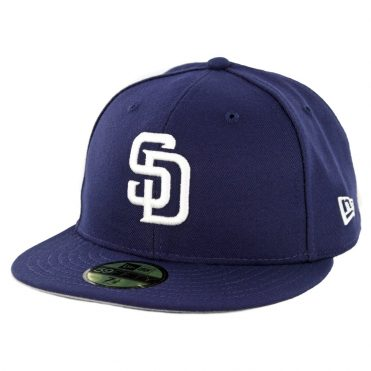 New Era 59Fifty San Diego Padres Trevor Hoffman Hall Of Fame Fitted Hat Light Navy