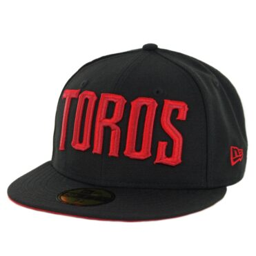 New Era 59Fifty Tijuana Toros Fitted Hat Black Red