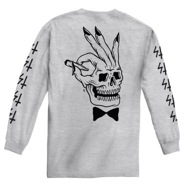 Sketchy Tank Player Long Sleeve T-Shirt Heather Grey