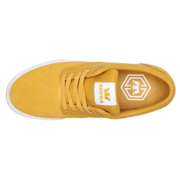 Supra Chino Shoe Golden White