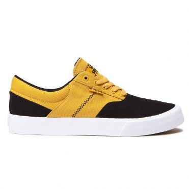 Supra Cobalt Shoe Black Golden White