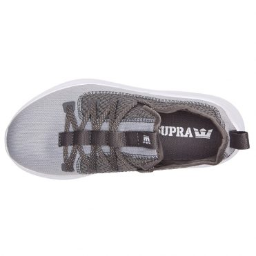 Supra Factor Shoe Light Grey Grey White