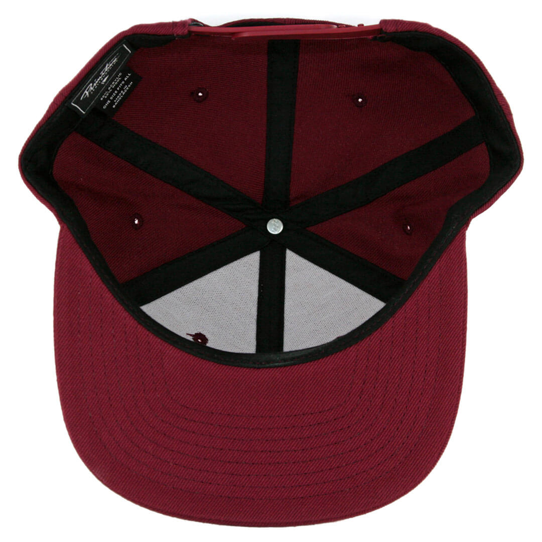3c629be8af5 Primitive Dirty P Snapback Hat Burgundy - Billion Creation Streetwear