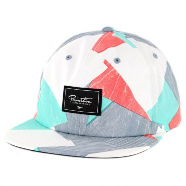 Primitive Pool Party Snapback Hat Tropical